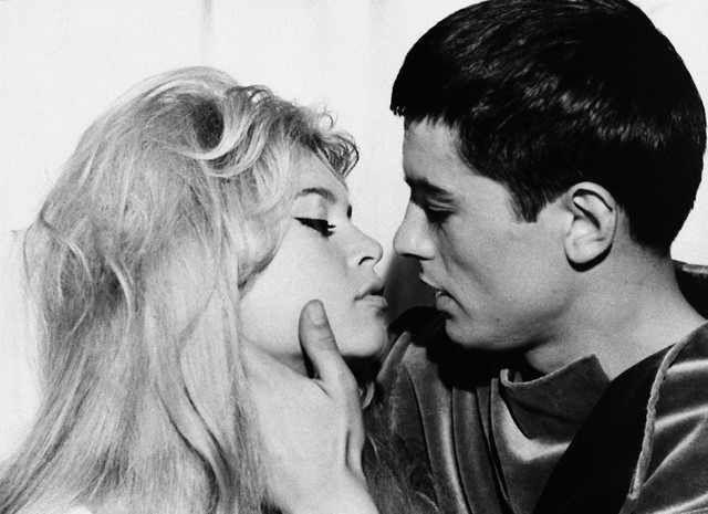 Brigitte Bardot-Alain Delon