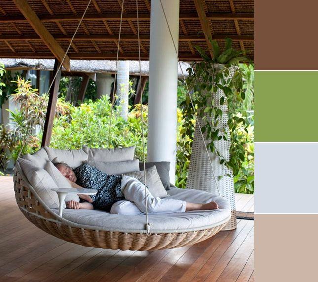 Hamacs Et Chaises Confortables Mobilier De Salon Deco Maison Et