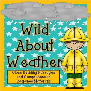 This Close Reading bundle includes three close reading sets about weather tools, cloud types, and storm types.  The articles are aligned with the Virginia Standards of Learning  (4.6) and each article includes a schema builder, vocabulary set, the article, a questioning page that requires text evidence, and a written response for deeper thinking and text citation.