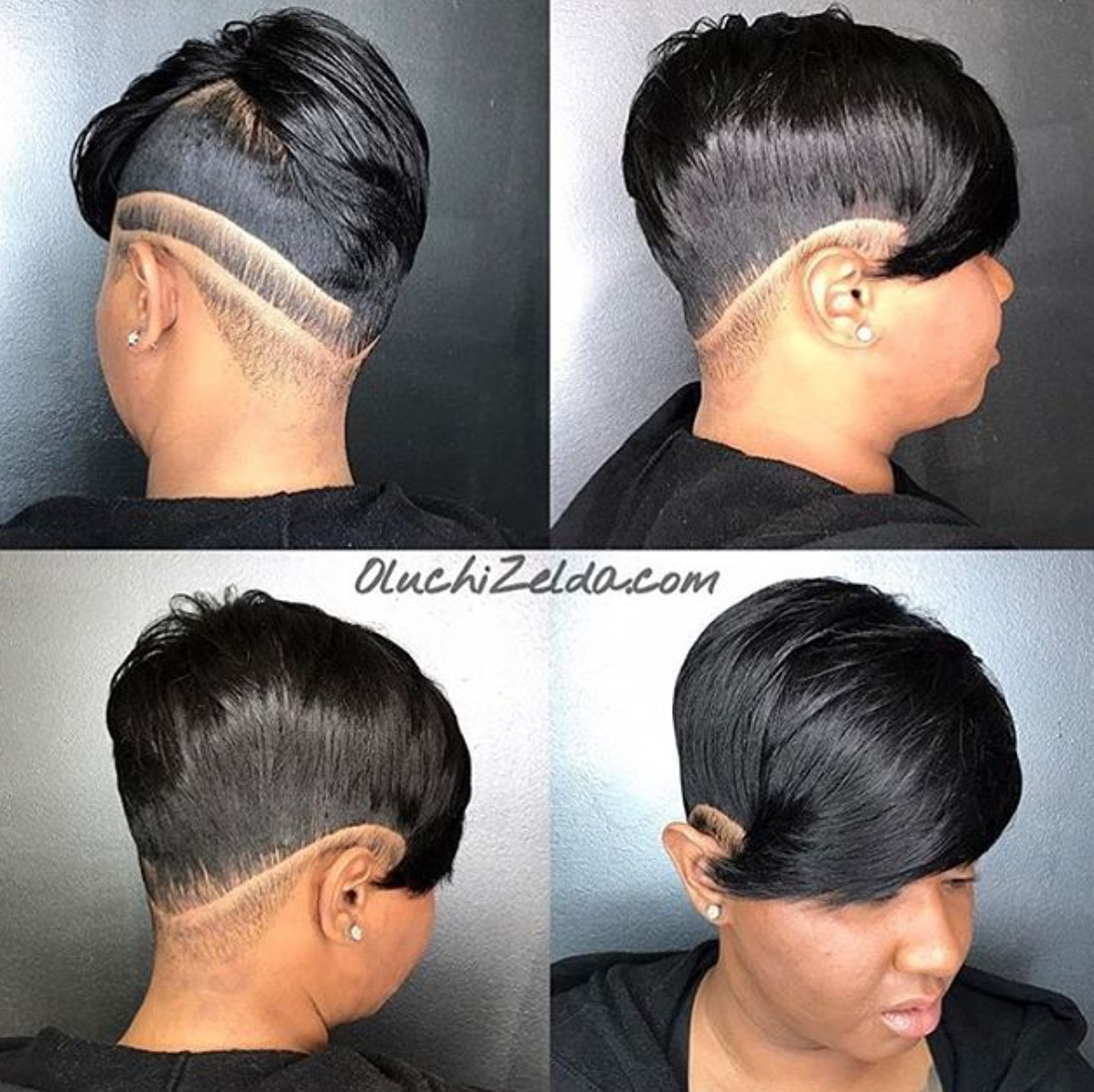 Dope cut oluchizelda blackhairinformationhairstyle