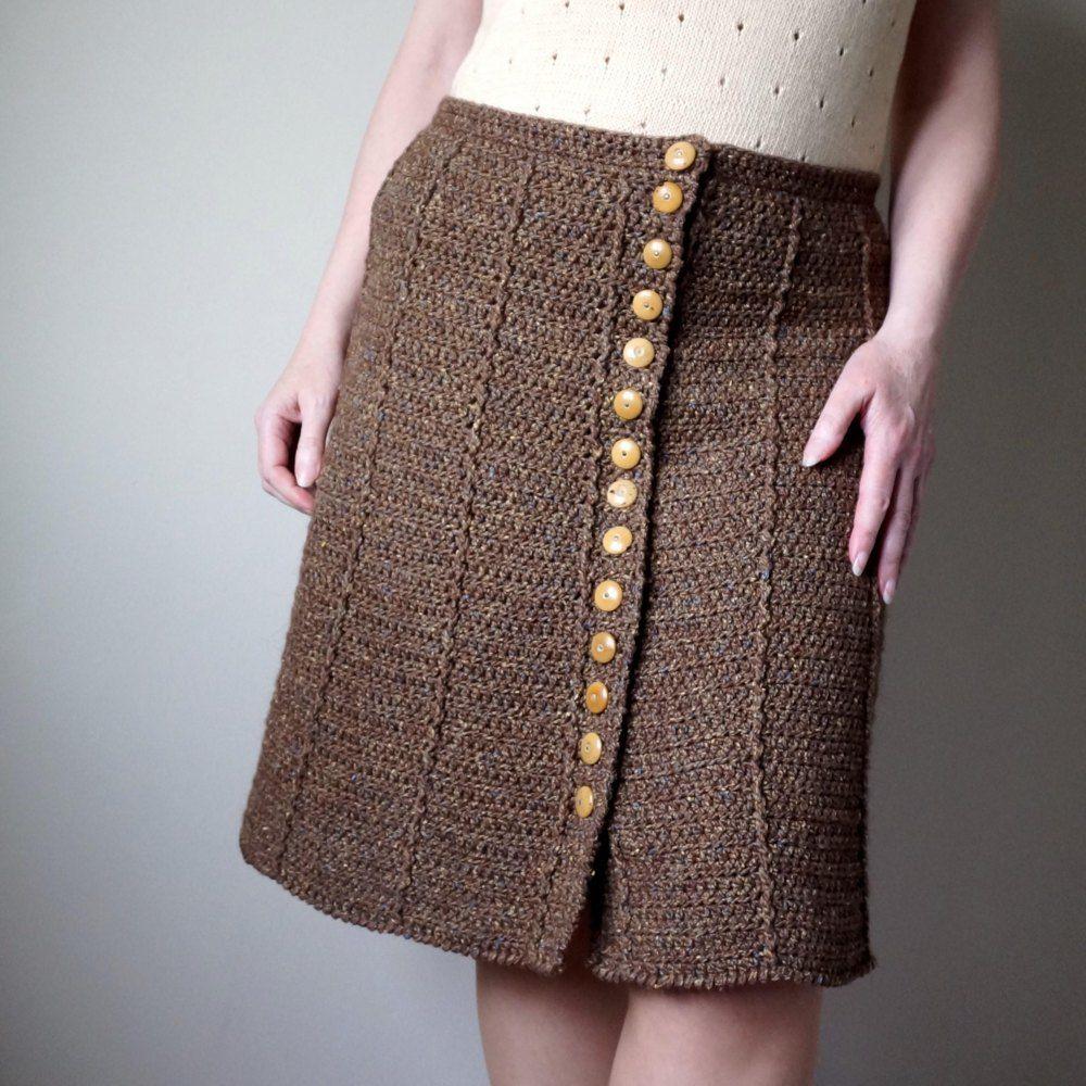 Kiloran Skirt Crochet pattern by Jane Howorth