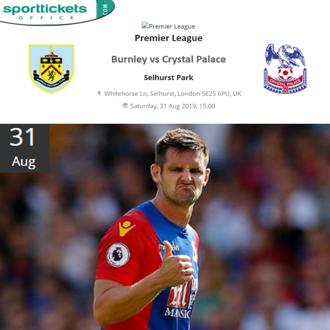 Premier League Burnley Vs Crystal Palace Selhurst Park Burnley Crystal Palace Palace