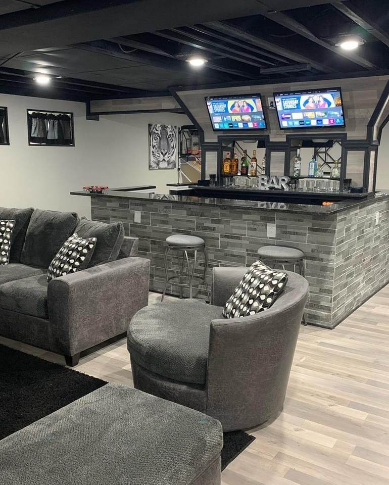Basement Bar Idea In 2020 Bars For Home Design Your Dream House Man Cave Room