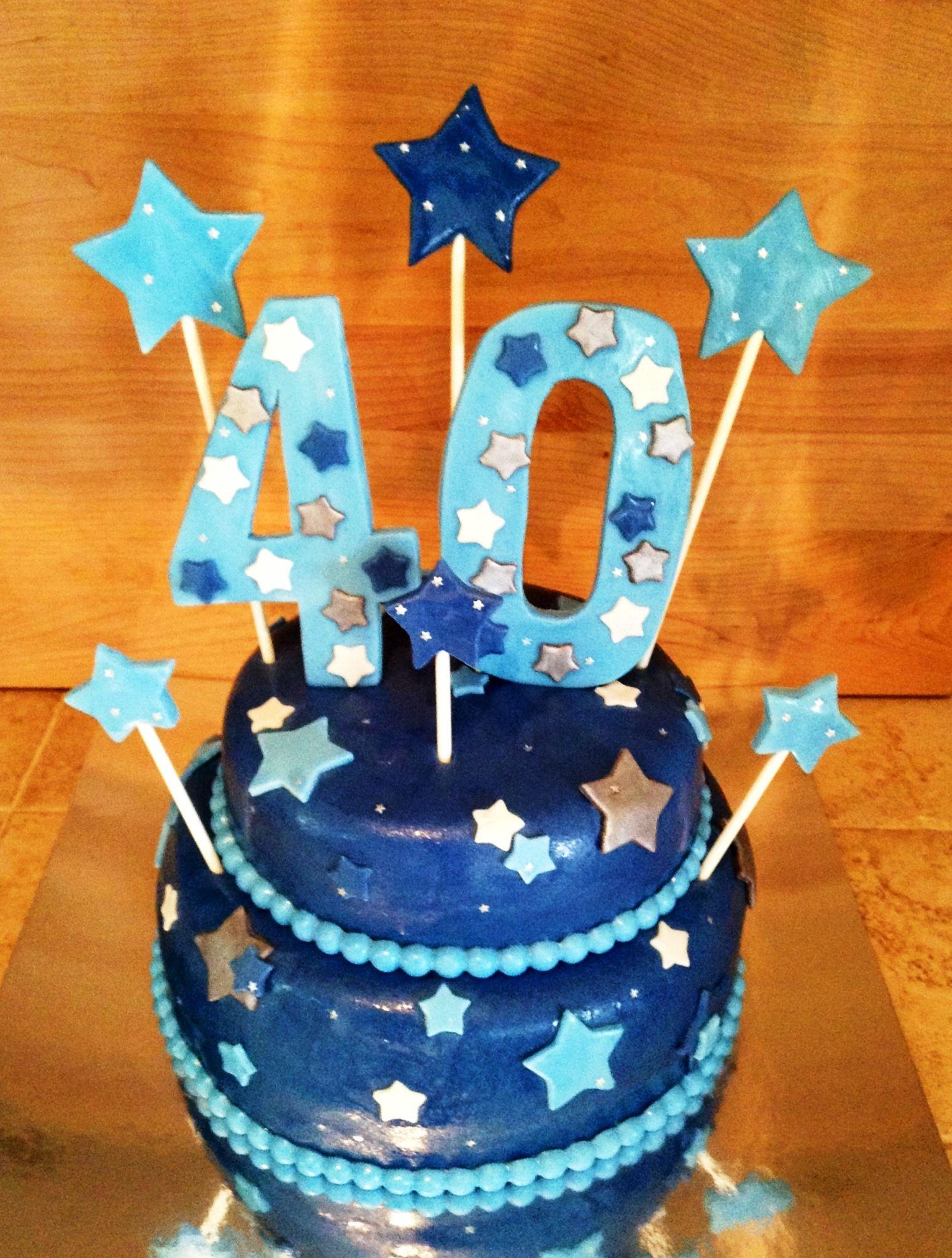 40th birthday cake pinterest 40 for 40th birthday cake decoration