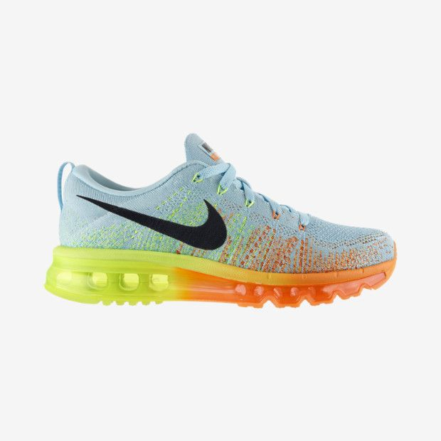nike flyknit air max womens glacier ice