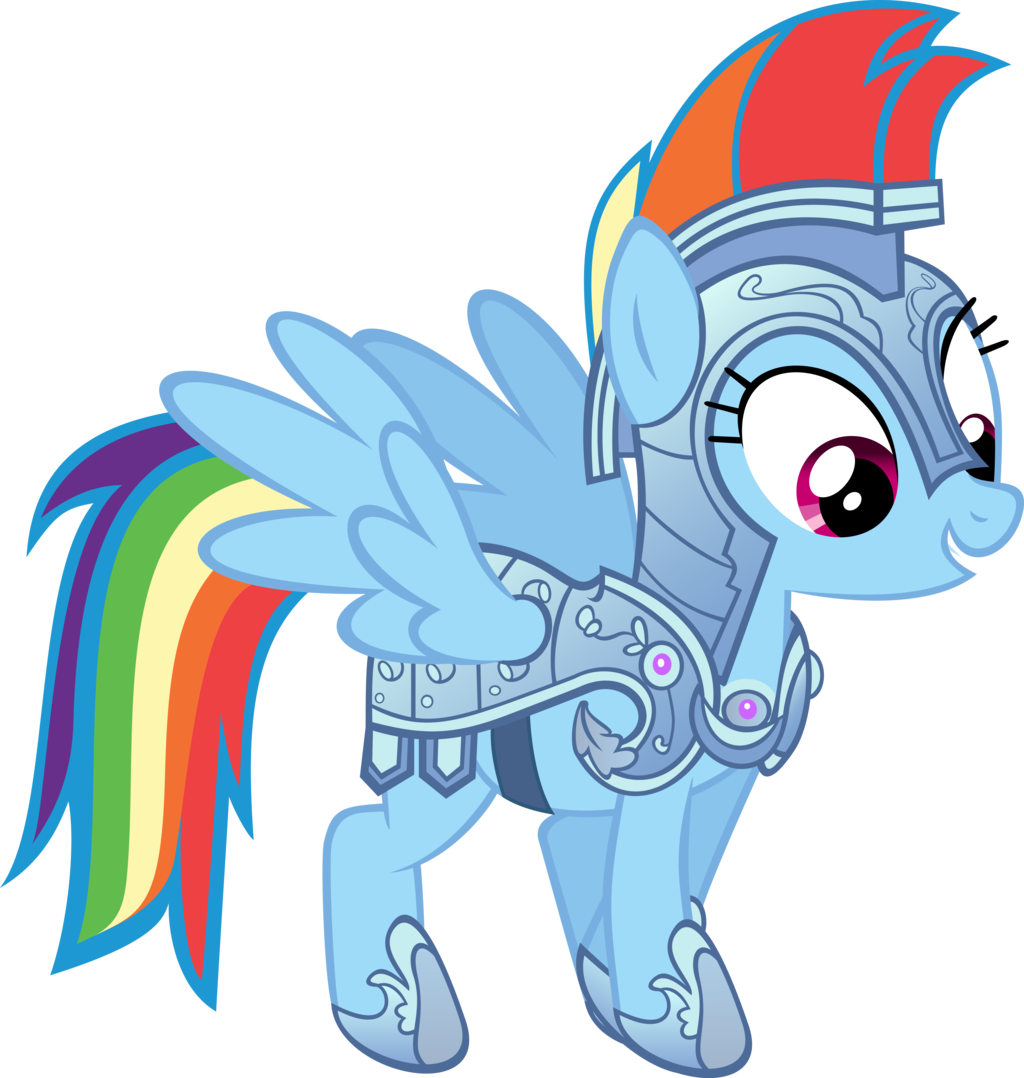 Rainbow Dash Armor