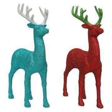 Glitter Deer (Assorted Styles) - Wondershop™