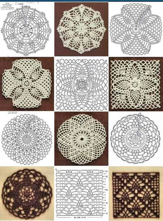 Pin by nat alie on crochet chart picture tutorial pinterest circle diagram crochet diagram crochet patterns crochet chart crochet coaster crochet granny squares craft ideas theater table runners ccuart Choice Image