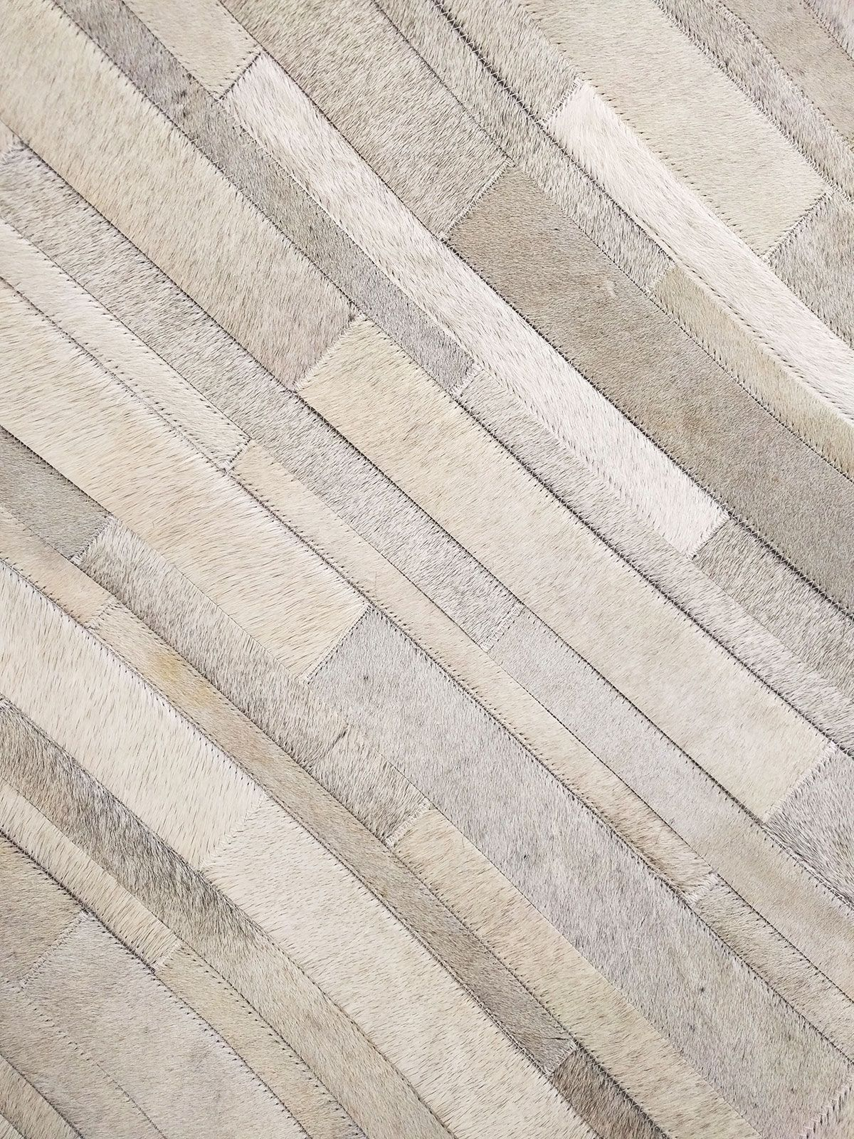 Patchwork Cowhide Rug In Classic White And Gray Stripes Cow Hide Rug Patchwork Cowhide Cowhide Patch Rug