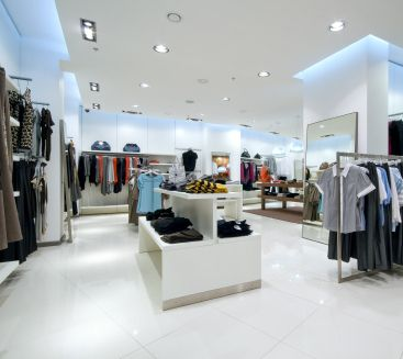 Retail store with accent lighting lighting solutions for without commercial retail cleaning your customers could begin to shop elsewhere because of the lack of cleanliness aloadofball Images
