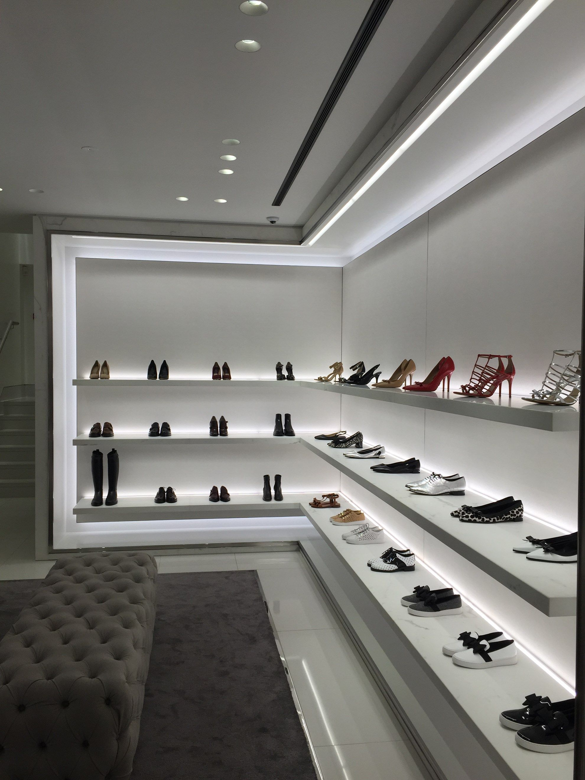 Michael Kors Lucent Lighting In 2019 Shoe Store Design