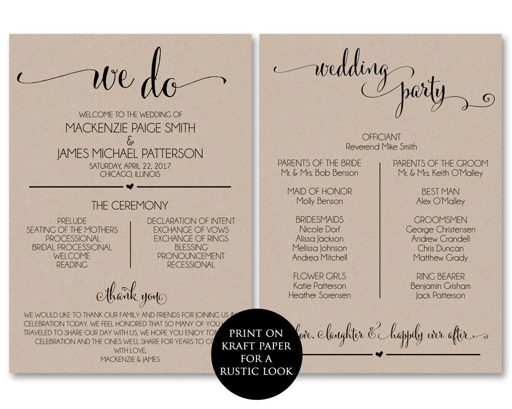 pin by katie budris on kb cb ceremony in 2018 wedding programs