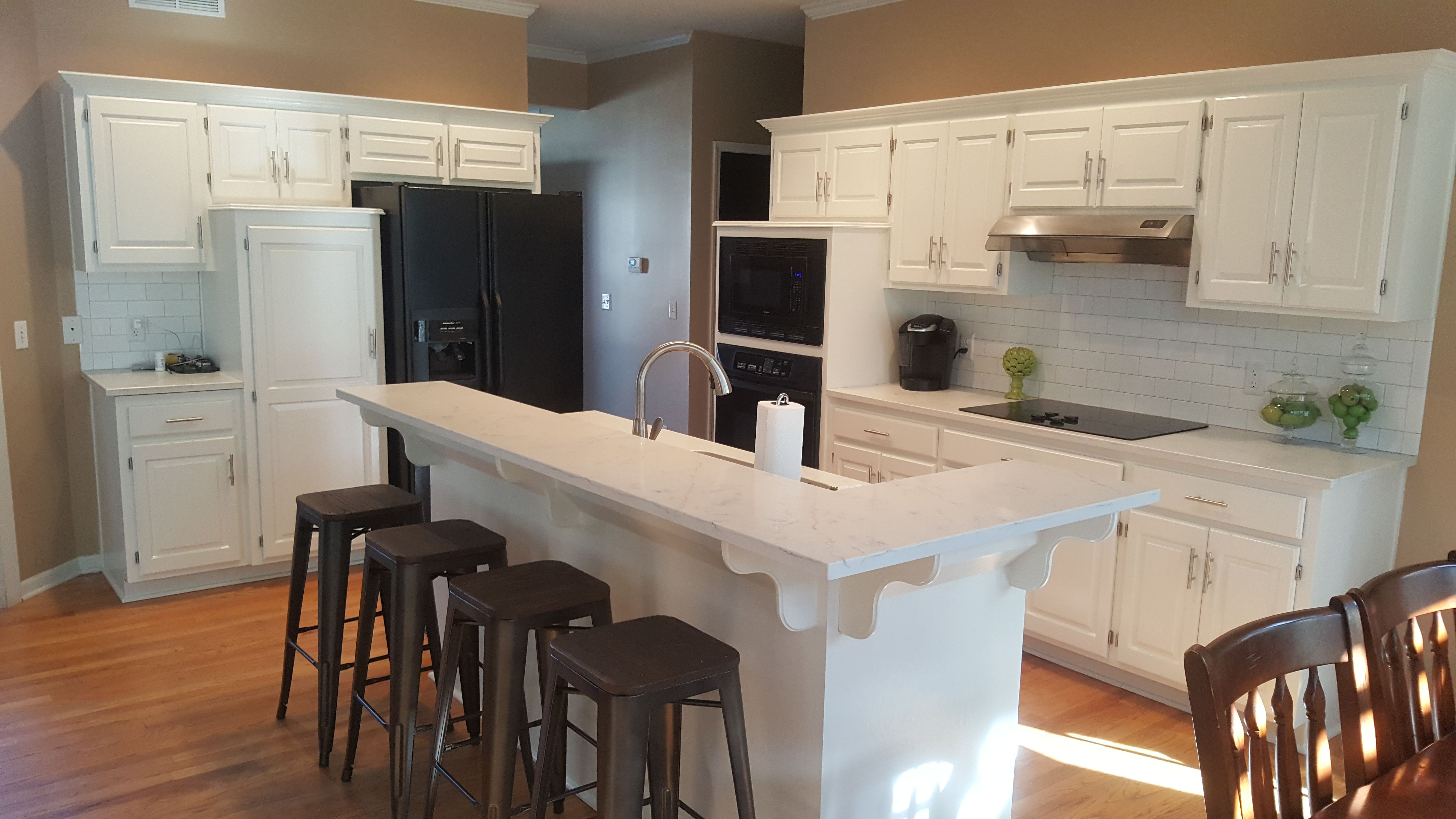 Custom Painted Cabinets By Riley Design Kc In 2020 Affordable Cabinets Cabinetry Painting Cabinets