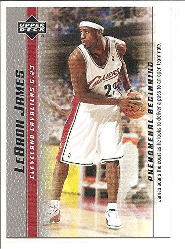 Lebron James Cleveland Cavaliers 2004 05 Upper Deck Phenomenal