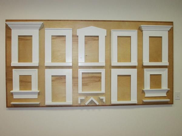 Pvc window trim exterior window treatments remodel ideas - Exterior window trim ideas pictures ...