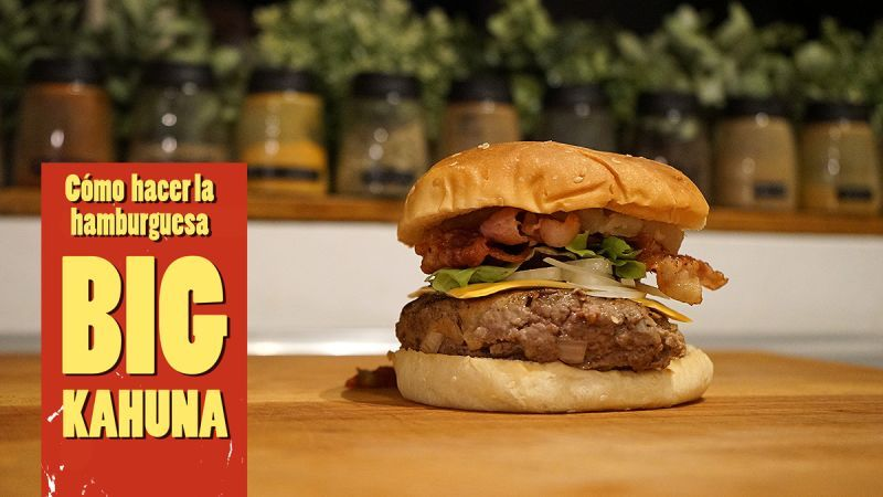 Cómo preparar la Big Kahuna, la hamburguesa original de Pulp Fiction