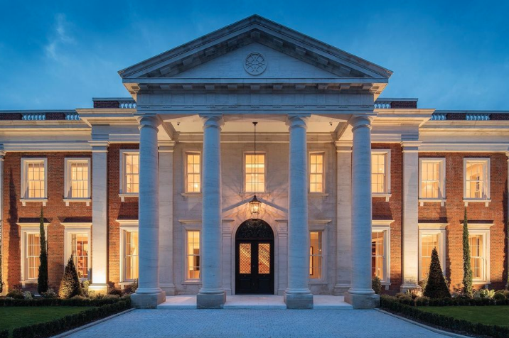 22 Million Newly Built Mansion In Berkshire England Homes Of The Rich Mansions Mansion Designs Luxury House Plans