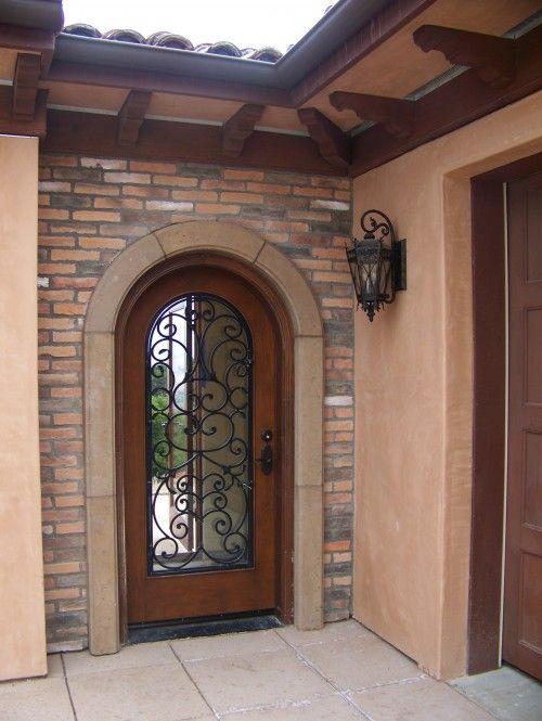 Entradita rustica sencilla casas fachadas o exteriores for Entradas de casas rusticas