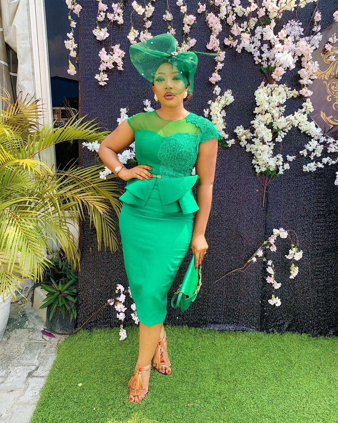 Wedding Guests Steal Worthy Looks Wedding Digest Naija Blog Latest African Fashion Dresses Lace Wedding Guest Dress African Fashion Dresses [ 1350 x 1080 Pixel ]