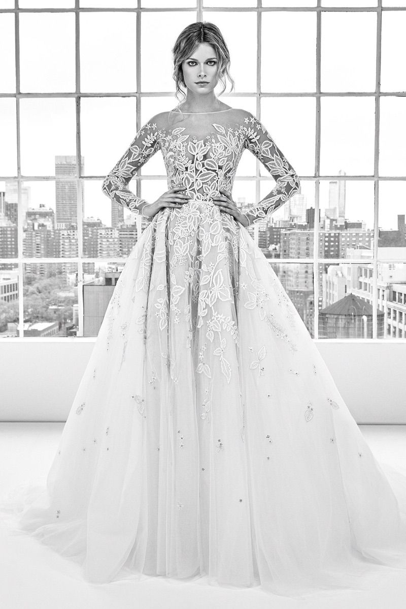 Deborah Gown From Zuhair Murad Bridal S Spring Summer 2018 Collection