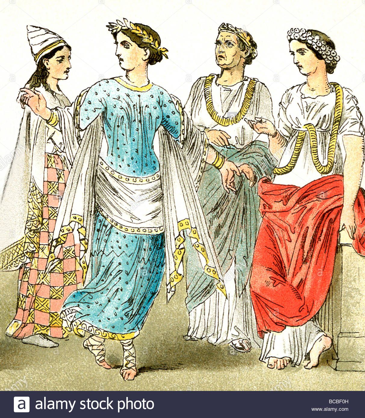 This An Etruscan Dress For Women It Had A Little More