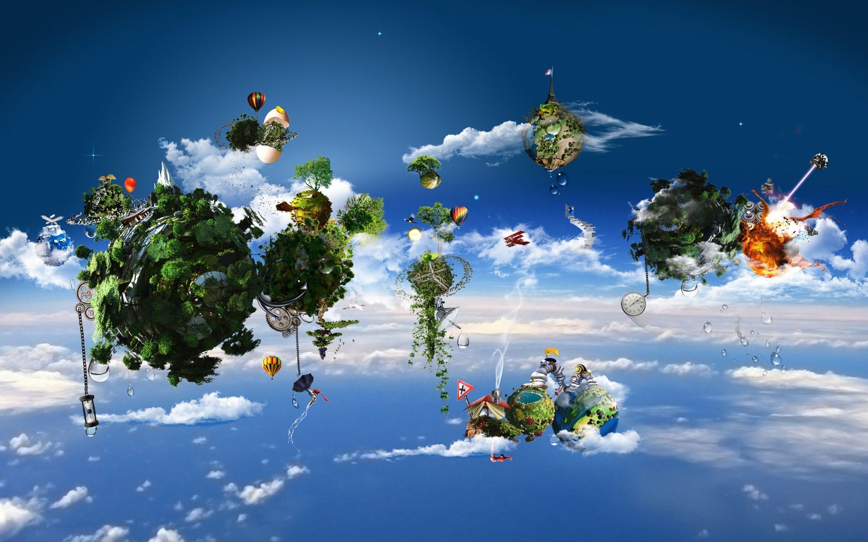 cool desktop creative air ecological home wallpapers online