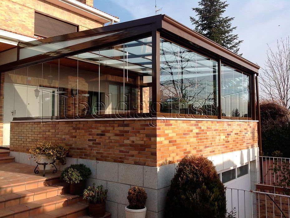 Beldaglass soluciones con vistas hogar techos para for Cortinas para terrazas exteriores