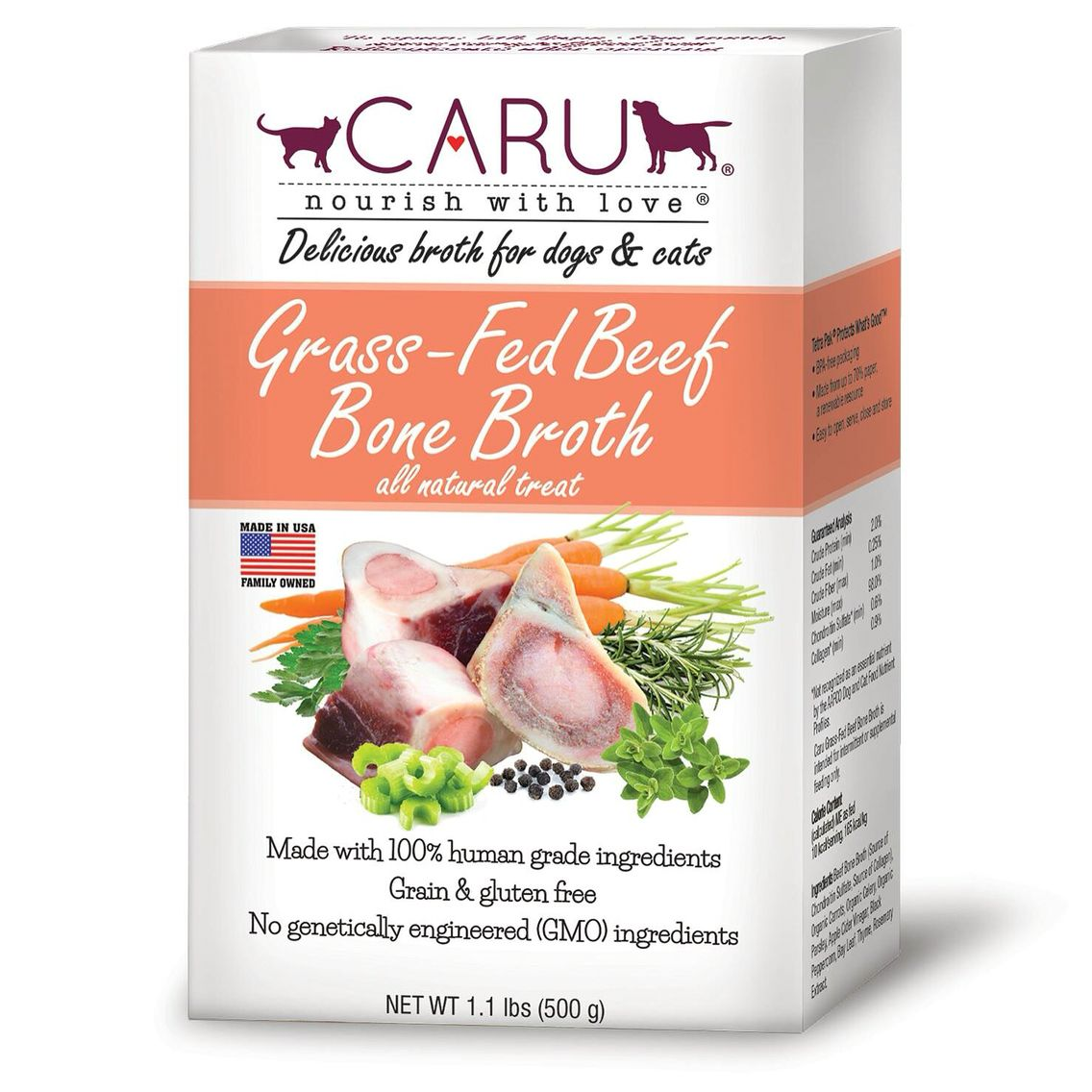 CARU is pleased to announce the introduction of Grass Fed
