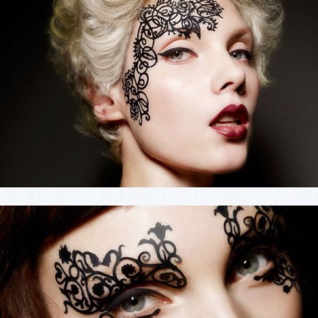 90e572b42 Face tattoos: release date March 30 | headpieces | Beauty makeup ...