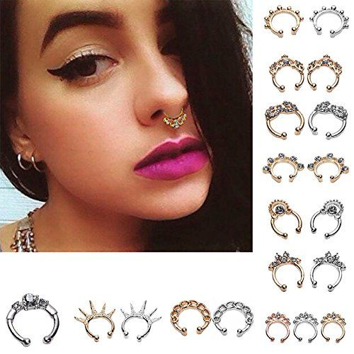 Pin By Lila Tate On Clothing For Me Jewelry Septum Clicker