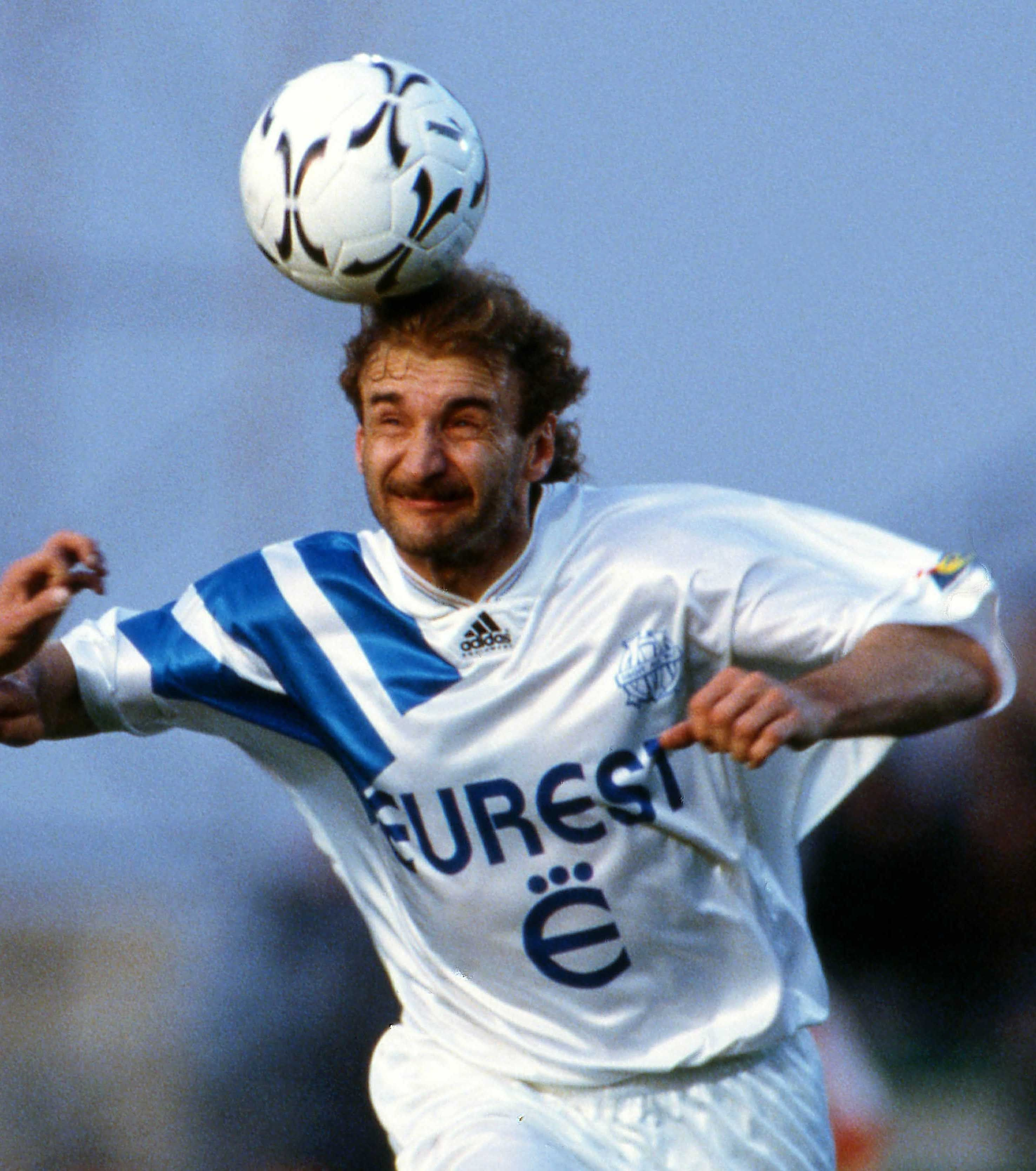 Rudi Voller Allemagne Om 1992 1994 Olympique De Marseille Fifa Football Marseille