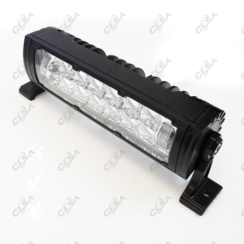 10'' 126W LED CREE 5D LENS Light Bar for 4WD Offroad Boat Premium 7W CREE Chips insideEquip with 5D lens, super coverage with much less blind spotUnique Angel?s eye beam creates a special intensive light distributionToughened PMMA lens with strong impact resistancePremium heat dissipation structure and heavy duty metal standIP68 High-grade water-proof and corrosion resistance aluminium housing and great performance for extreme environmentWide voltage range from 9-32VUp to 50,000 hours life time