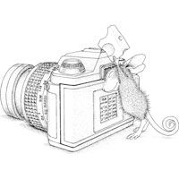 mouse people coloring pages - photo#34