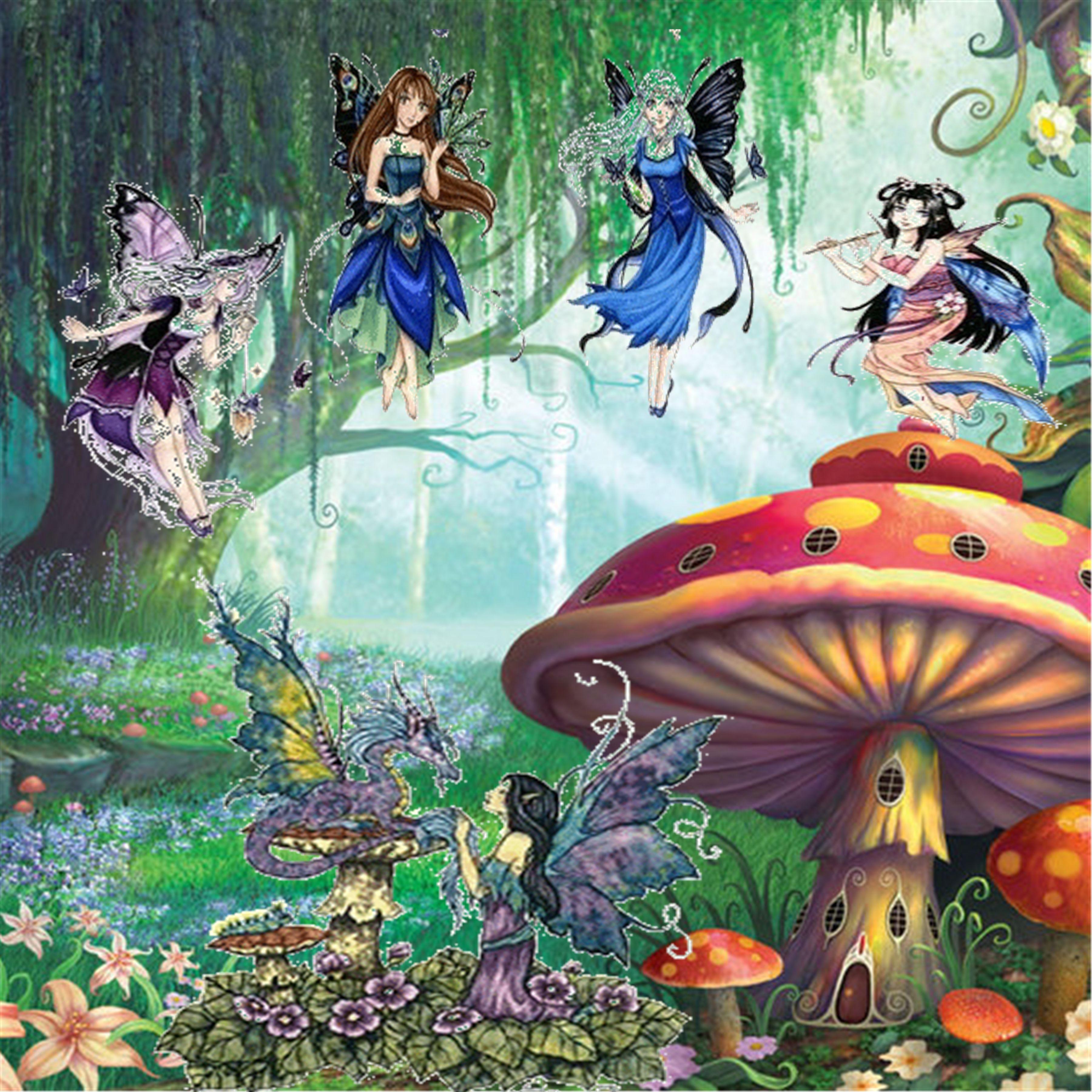mushrooms and fairies   Mushrooms   Pinterest   Fairies ...  mushrooms and f...