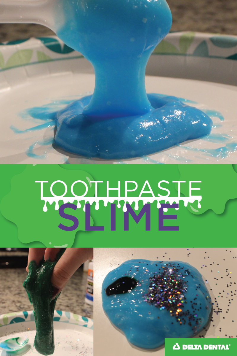 Slime Recipe With Toothpaste : slime, recipe, toothpaste, Toothpaste, Slime, Borax, Needed!, Delta, Dental, Arizona, Slime,, Toothpaste,