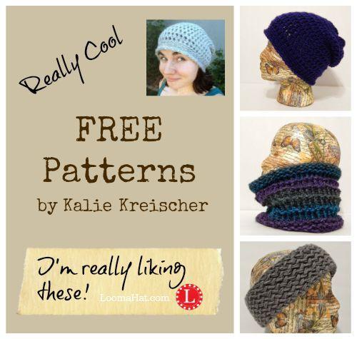 Meet Kalie Kreischer a new loom knit designer with cool FREE Loom ...