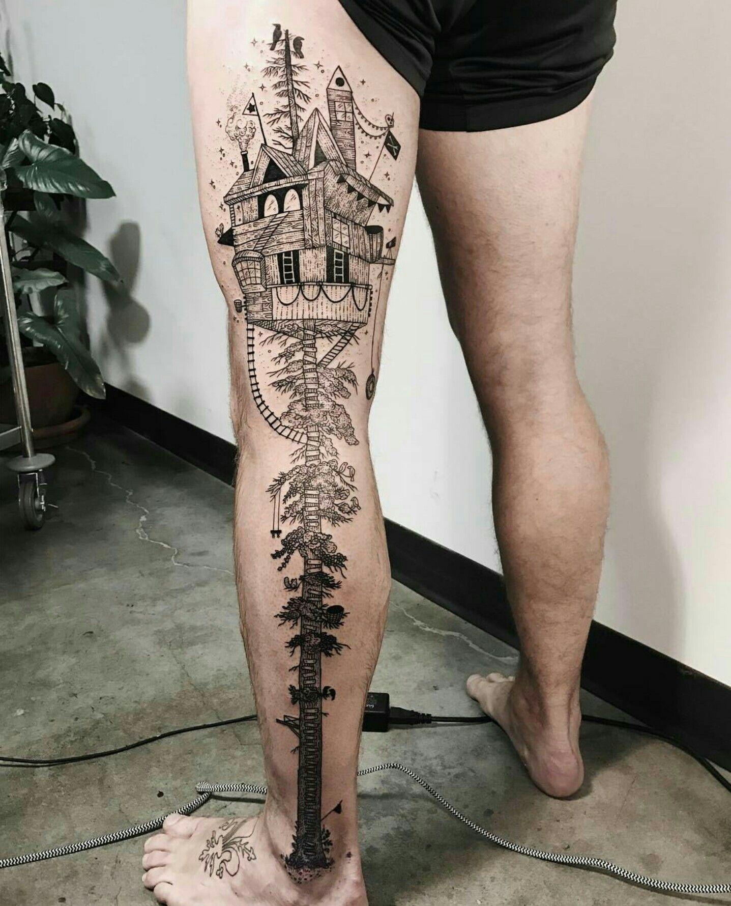 Treehouse Tattoo
