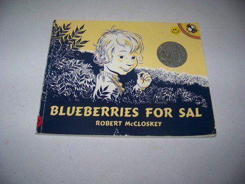 Blueberries for Sal: Robert McCloskey: 9780140501698: Amazon.com: Books