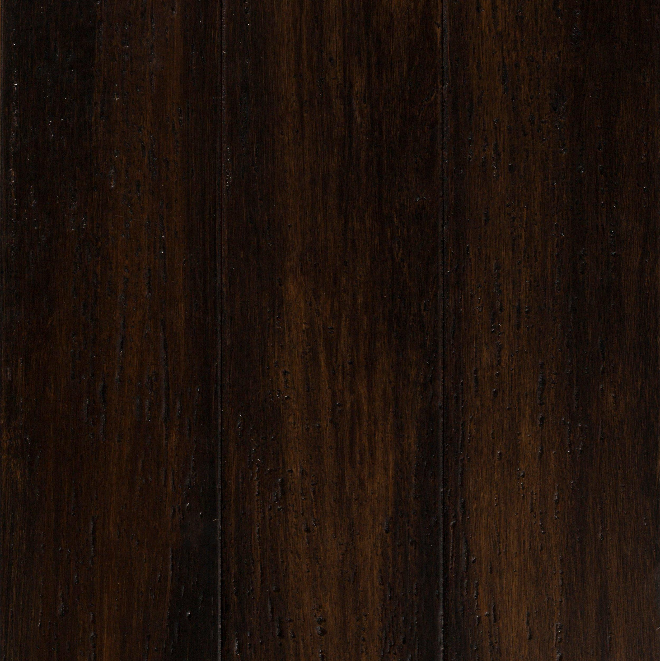 Barcelona Wire Brushed Solid Stranded Bamboo Wood