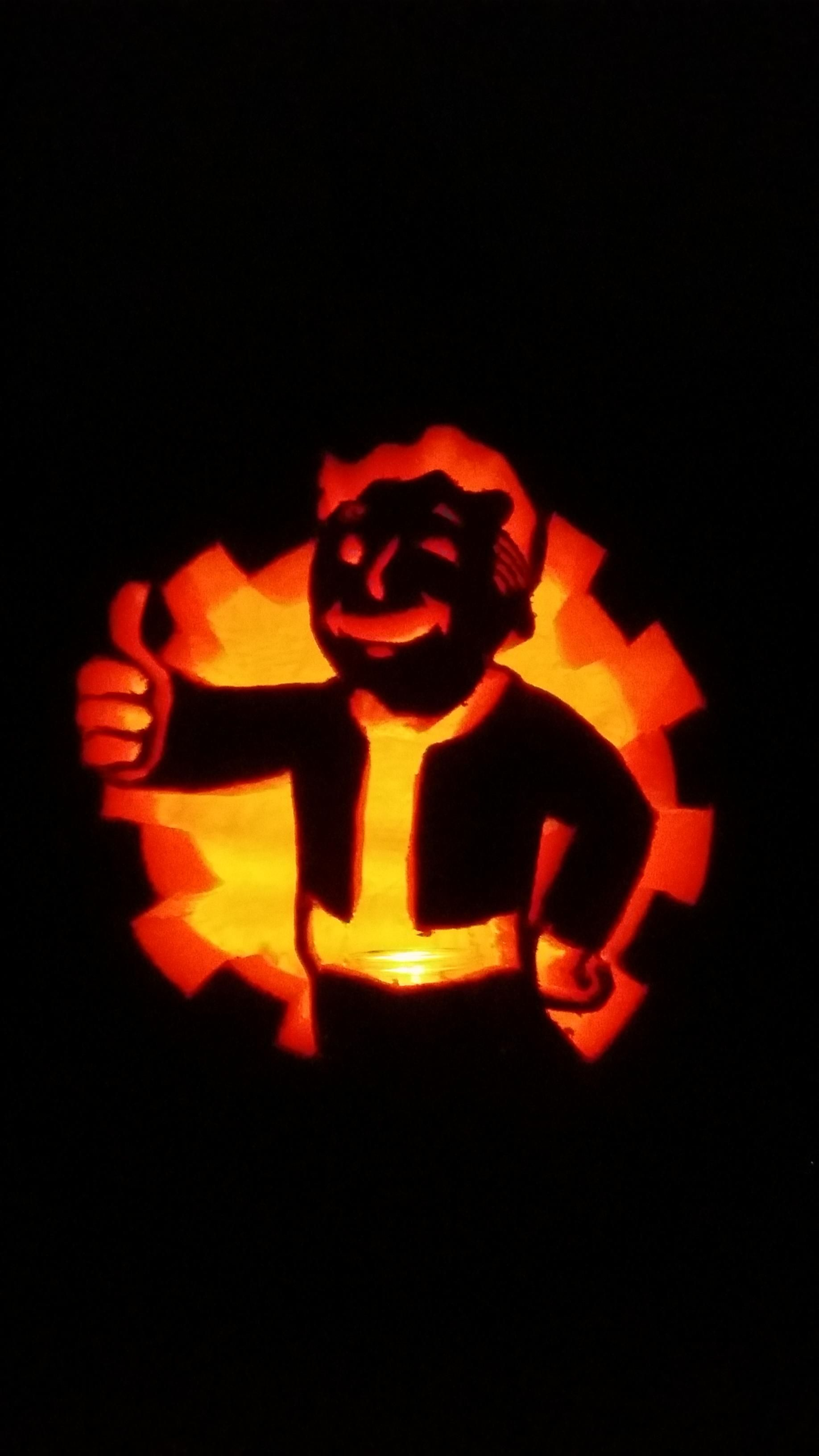 My Fallout pumpkin (With images) Pumpkin carving