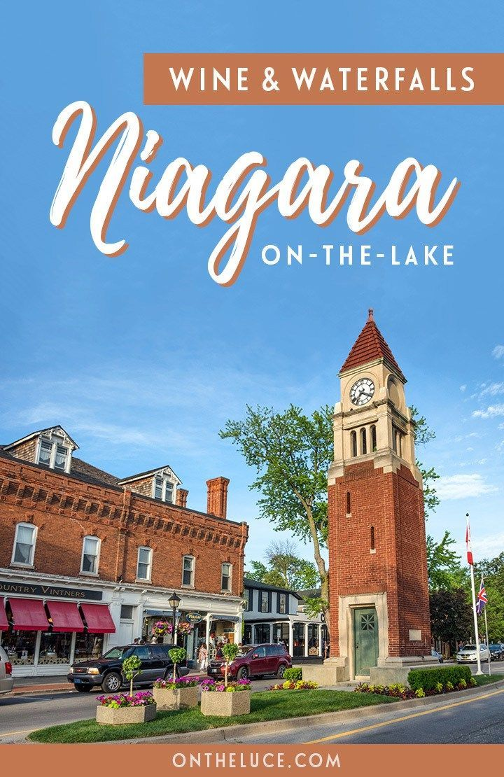 Wine and waterfalls: What to see in Niagara-on-the-Lake, Canada ...