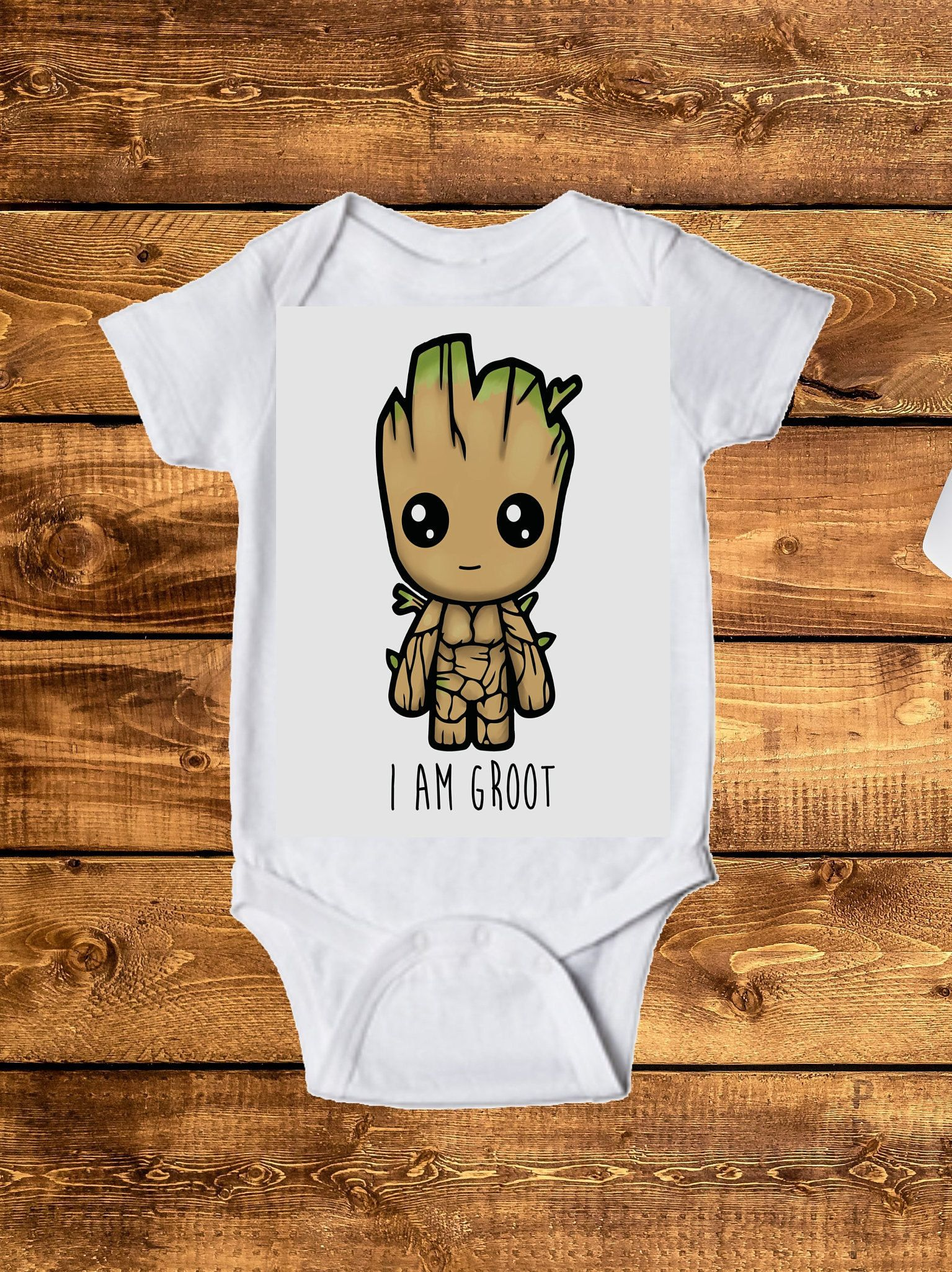 0b1d575a6 Groot inspired Onesie, I AM Groot Toddler Tee, Baby Onesie, infant  clothing, children's clothing, toddler clothes, by LeopardVinylDesigns on  Etsy