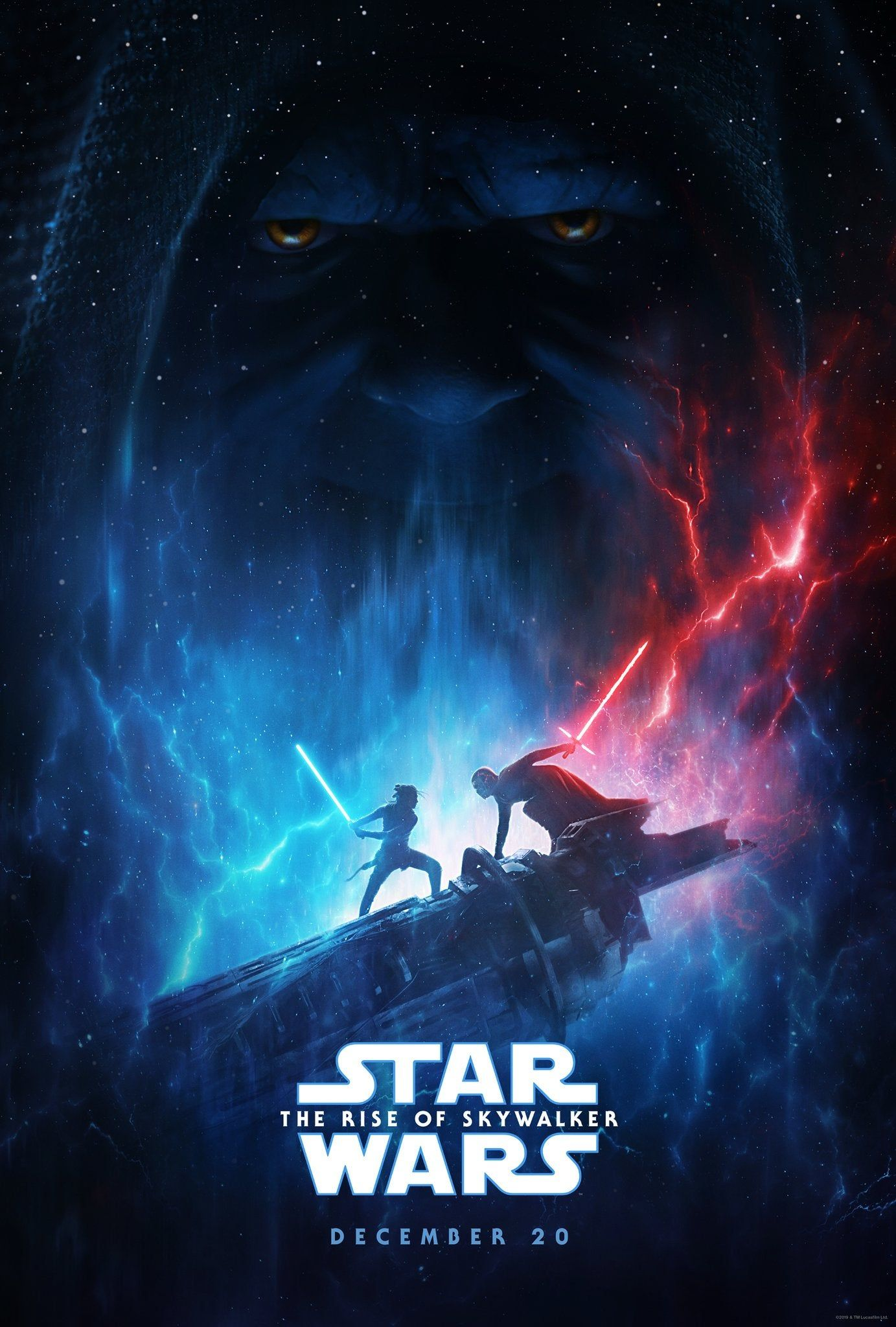 Star Wars The Rise Of Skywalker Official Poster Starwars