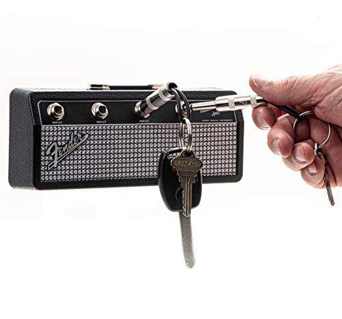 Licensed Fender Jack Rack Wall mounting guitar amp key holder includes 4 guitar plug key