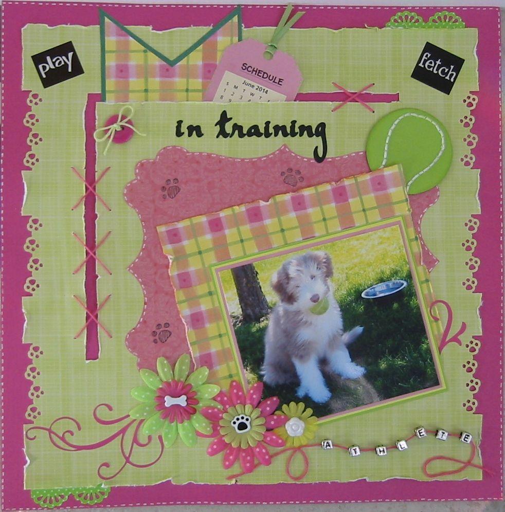 In Training - Scrapbook.com