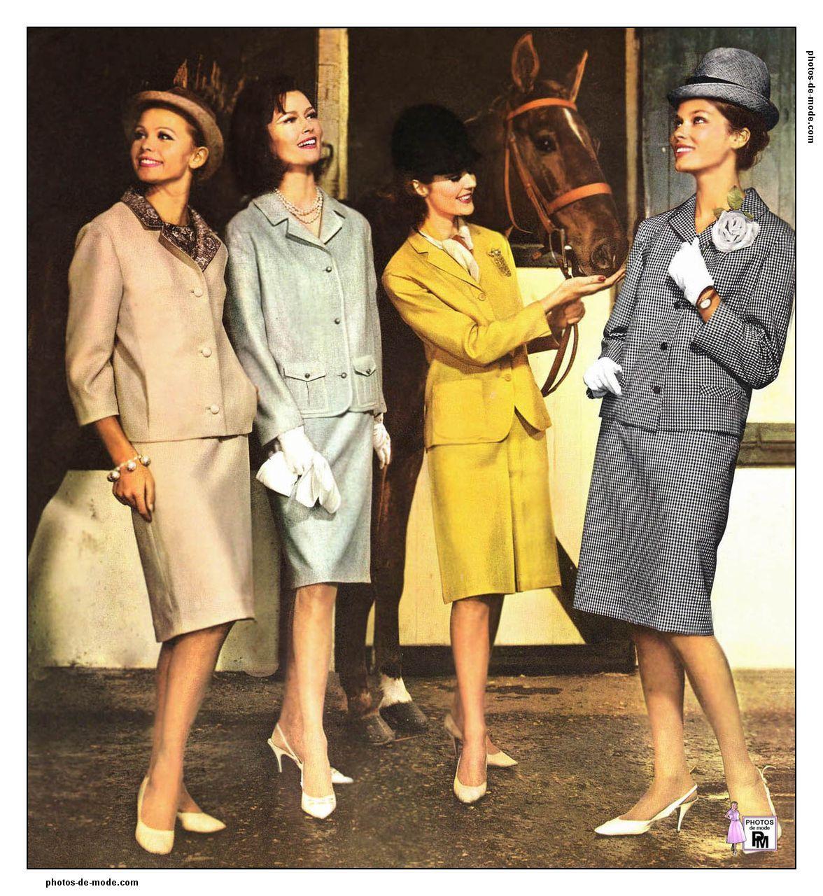mode ann es 60 1964 ann es 60 fashion retro fashion. Black Bedroom Furniture Sets. Home Design Ideas