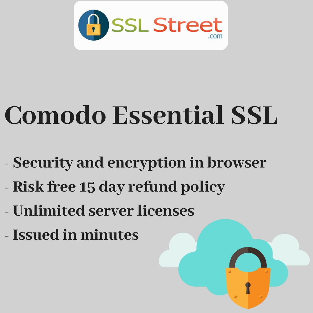 Comodo Essential Sslcertificate Is Affordable Domain Validated Dv