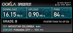 ¡Echa un vistazo a mi resultado de @Speedtest! ¿Qué tan rápido es tu internet?