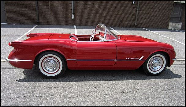 1954 Chevrolet Corvette Roadster 1 of 100 Produced