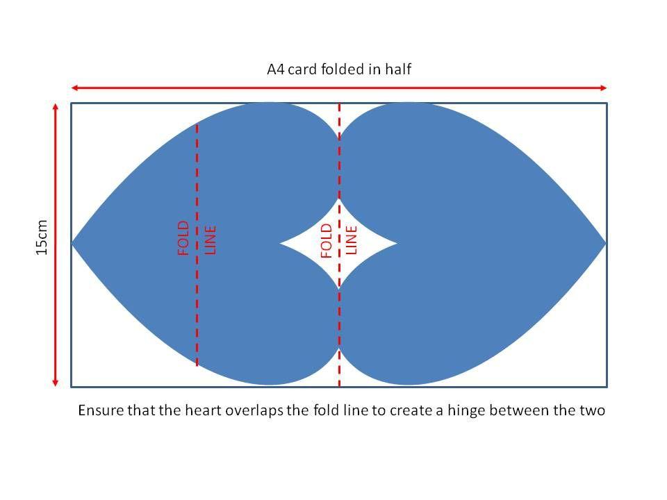 Sazzle Craft Heart Easel Card  Templates  Pinterest  Easel